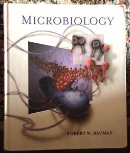 Microbiology by Bauman & unopened CD