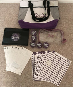 Scentsy Tote Bag, Bank Bag, Coffee Bean Tins, Order Forms, Label