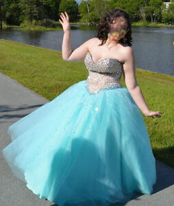 Size 14 Prom Gown $600 Obo