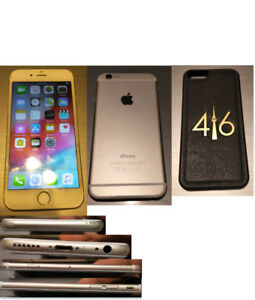Unlocked Apple iPhone 6 64GB Gold