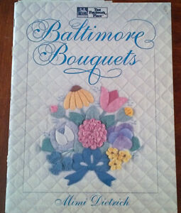 7 Quilt Applique Books/Magazines - all for $10.00 or as priced