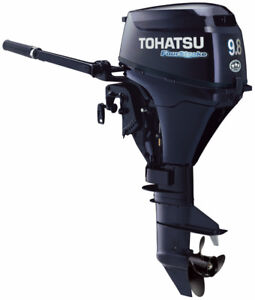 9.8hp Carburated Tohatsu Outboard On Sale at JS Prop