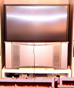 "HITACHI 57"" REAR PROJECTION TV"