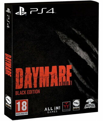 Daymare : 1998 Black Edition (PS4) **Pre Release**