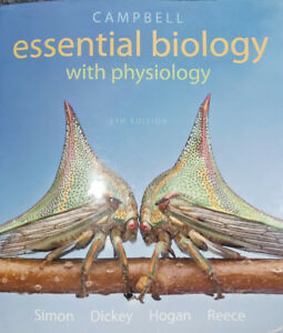 Textbook: Campbell Essential Biology with Physiology 5e