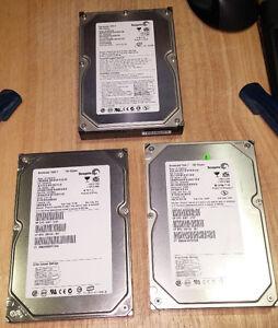 2 PATA hard drives