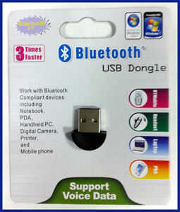 Brand New Bluetooth USB Adapter/Dongle, Sealed in Package