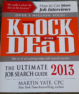 LAW BOOKS - Knock 'em Dead, The Ultimate Job Search Guide