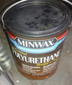 3.78 L Can Minwax Water-based Oil-Modified Polyurethane