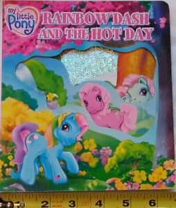 Rainbow Dash and Another Hot Day BOARD Book My Little Pony