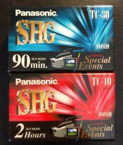 Wanted:older vhs-c cartridge or tape for panasonic cam recorder