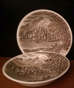 """Vintage Wood & Sons Hand-Engraved Bowls   """"West Morland"""" Strathcona County Edmonton Area image 1"""