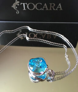 Tocara New 'Denise' Design Sterling Silver Necklace /Lia