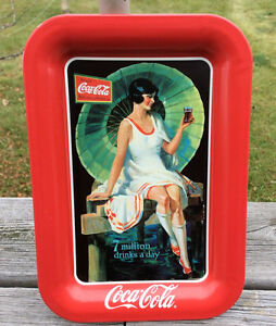 Mini Coca Cola Tin Tray 1995