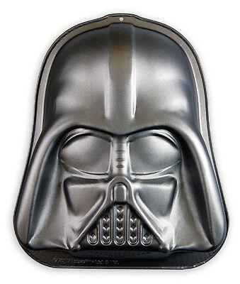 Darth Vader Backform Star Wars, Kuchenform aus teflonbeschichtetem Carbonstahl