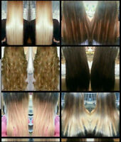 50% off Full head of premium Remy Human Hair Extensions  $280