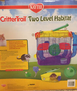 Critter trail small pets cage ( hamster, mice, guinee pig etc)