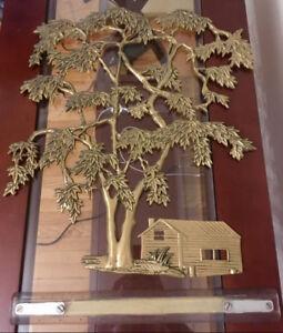 Beautiful Hanging Metal Sculptures, only $15