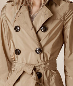 Burberry Lightweight  Hoodied Trench Coat