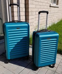 """New 28"""" & 20"""" Prodigy Velocity 2 -Piece Hardside Spinner Luggage"""
