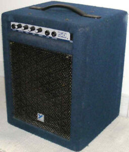 "Yorkville, Traynor 50 watt bass amp 10"" speaker needs tlc"