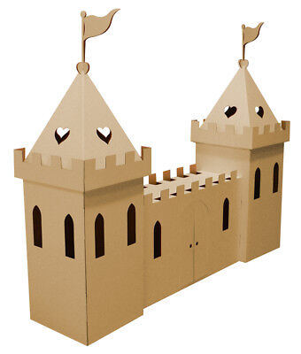 Cardboard Large Princess Castle (brown) by Kid-Eco