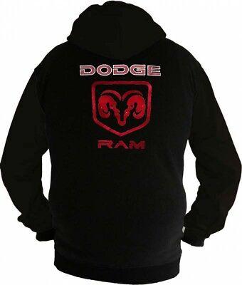 Dodge Ram Fan Kapuzenjacke, Sweatshirt,  Hoodie Lieferz. ca. 8 Tage ()