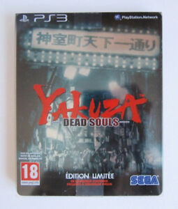 PS3 PLAYSTATION 3 - YAKUZA DEAD SOULS EDITION LIMITEE (PAL)