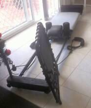 Aero Pilates Reformer + riser   Great value Yokine Stirling Area Preview