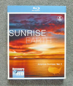 Sunrise Earth Blu Ray 4 Disc Collection