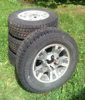 230/70/R16 Tires and Rims for sale