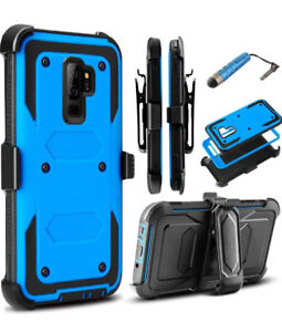 BRAND NEW SAMSUNG S9 PLUS CASE NEVER USED - BLUE