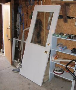 Steel Door and Screen Door