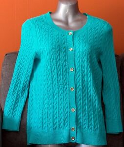 TALBOTS - Light blue buttoned down Sweater