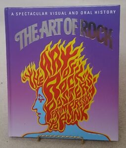 """The Art of Rock"" Hardcover - Like New"