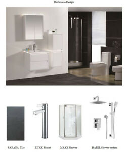 EVERYTHING FOR BATHROOM & KITCHEN:VANITY  CABINET MIRROR & MORE