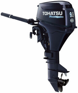 2017 Tohatsu 9.8hp with 5 Year Warranty at JS Prop