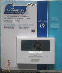Thermostats électroniques programmables