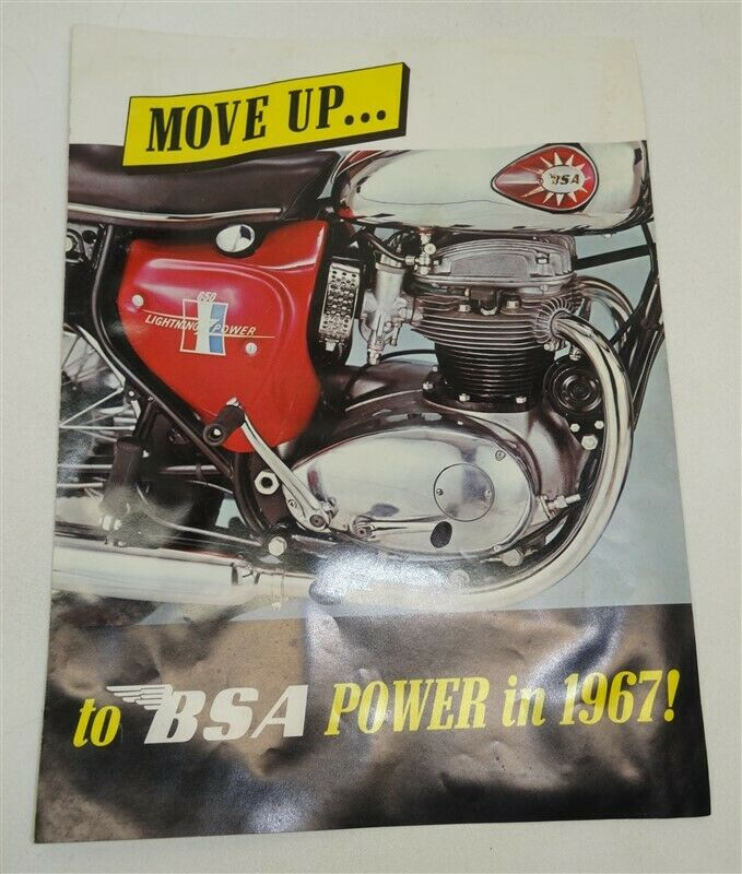 1967 BSA Motorcycle Flyer