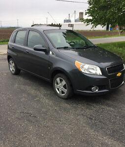 2010 Chevrolet Aveo manuelle