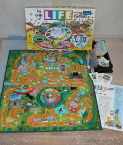 The Game Of LIFE_ The Simpsons Edition (custom paint)