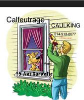 Caulking - Windows Doors Solarium-Top Quality - Best Price $$
