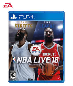 NBA Live 18: The One Edition (PS4) PlayStation 4