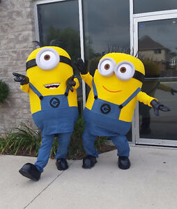 RENT: ADULT MINION COSTUMES/MASCOTS London Ontario image 1
