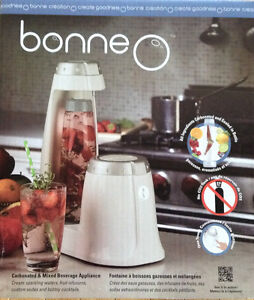 Brand New Bonne O carbonated mixed beverage appliance