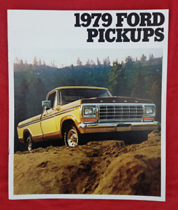 1979 FORD F100 F150 F250 XLT TRUCK NOS Dealer Sales Brochure