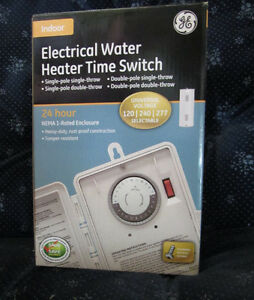Electrical Water Heater Time Switch