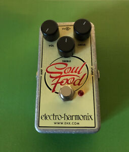 Soul food overdrive pedal
