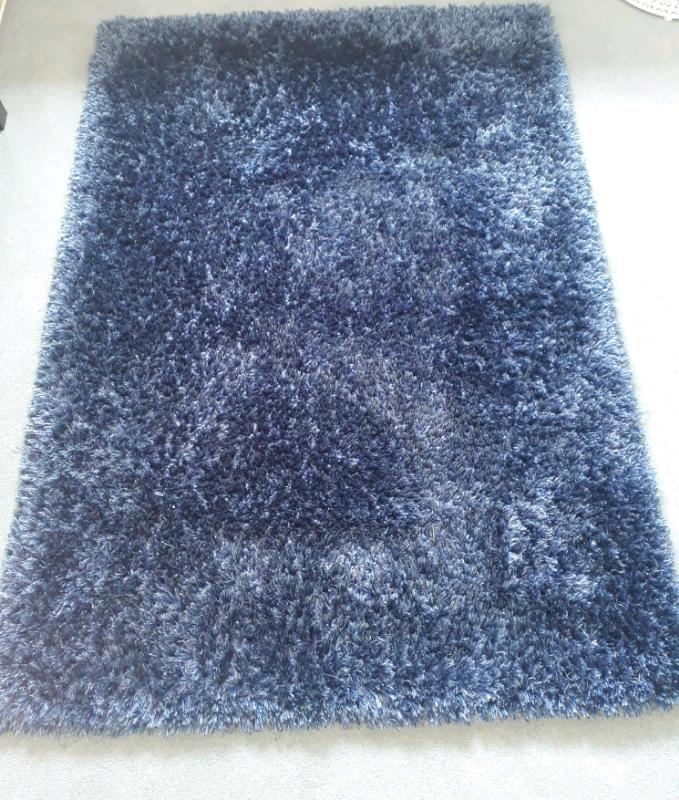 Prime Me Gusta Grace Blue Shaggy Rug 120X170Cm In Newport Gumtree Bralicious Painted Fabric Chair Ideas Braliciousco