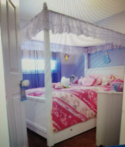 Canopy Trundle Bedroom Set
